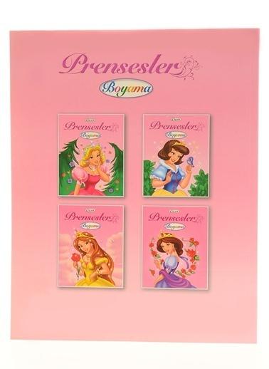 Çiçek Yayıncılık Prensesler Boyama Renkli